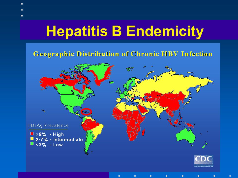 Hepatitis B Endemicity