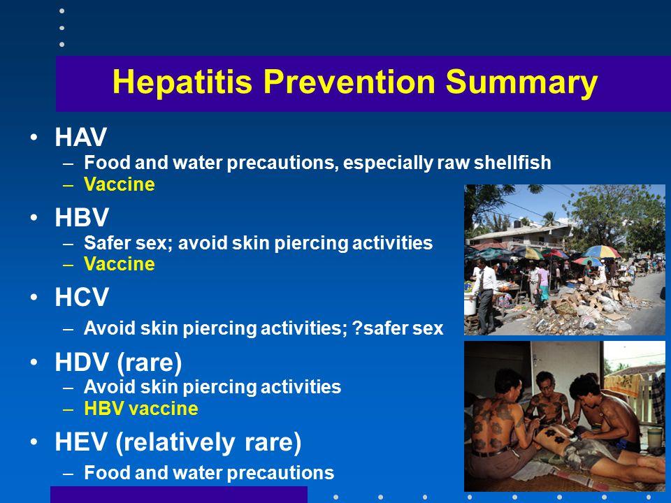 Hepatitis Vaccine Schedules