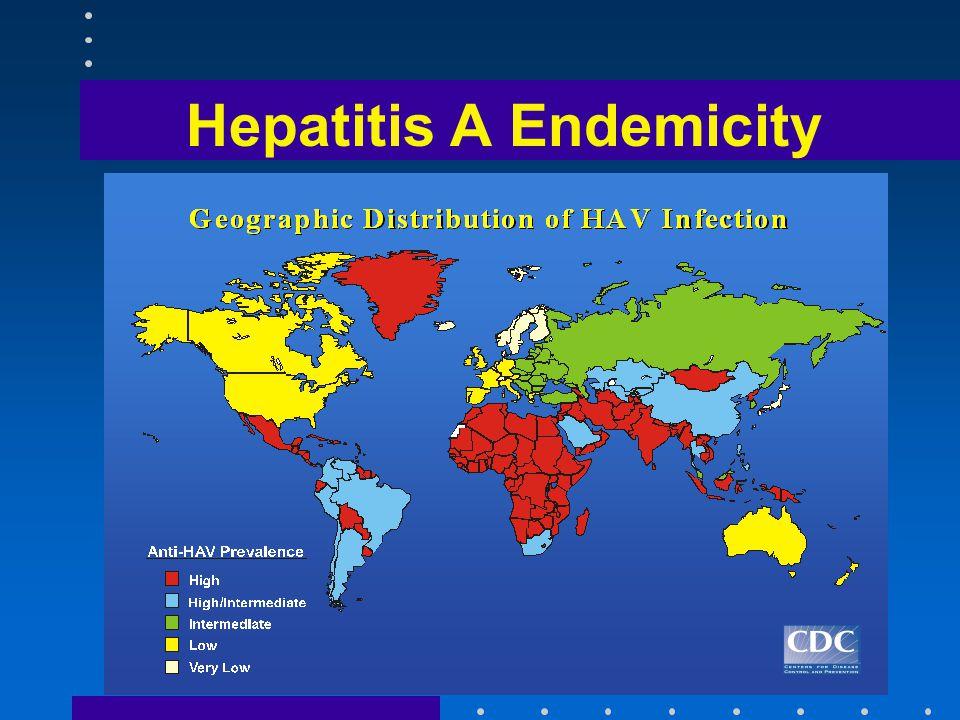 Hepatitis B Endemicity