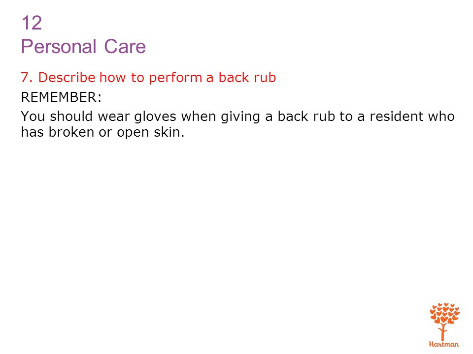 12 Personal Care 7.