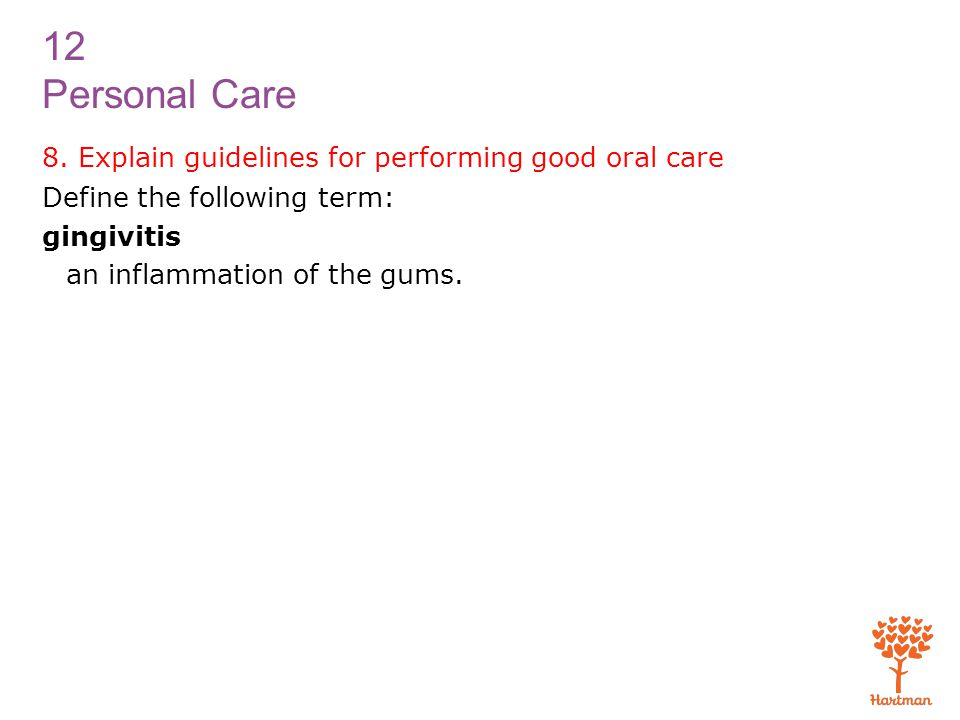 12 Personal Care 8.