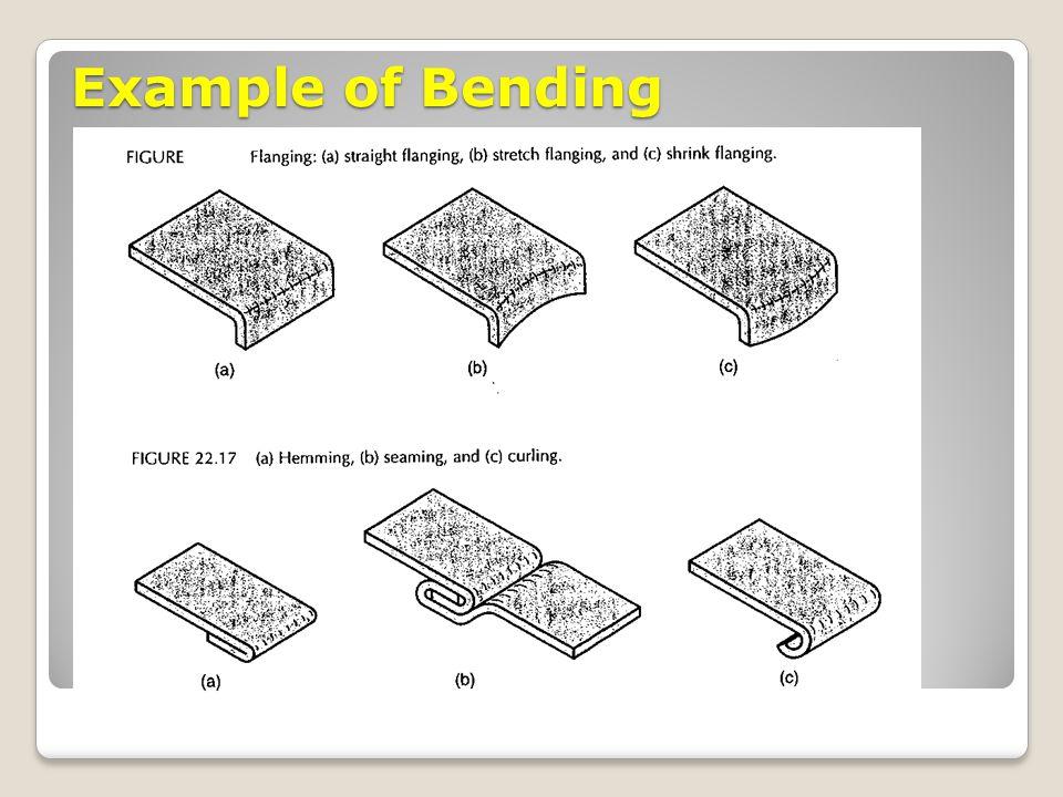 Example of Bending
