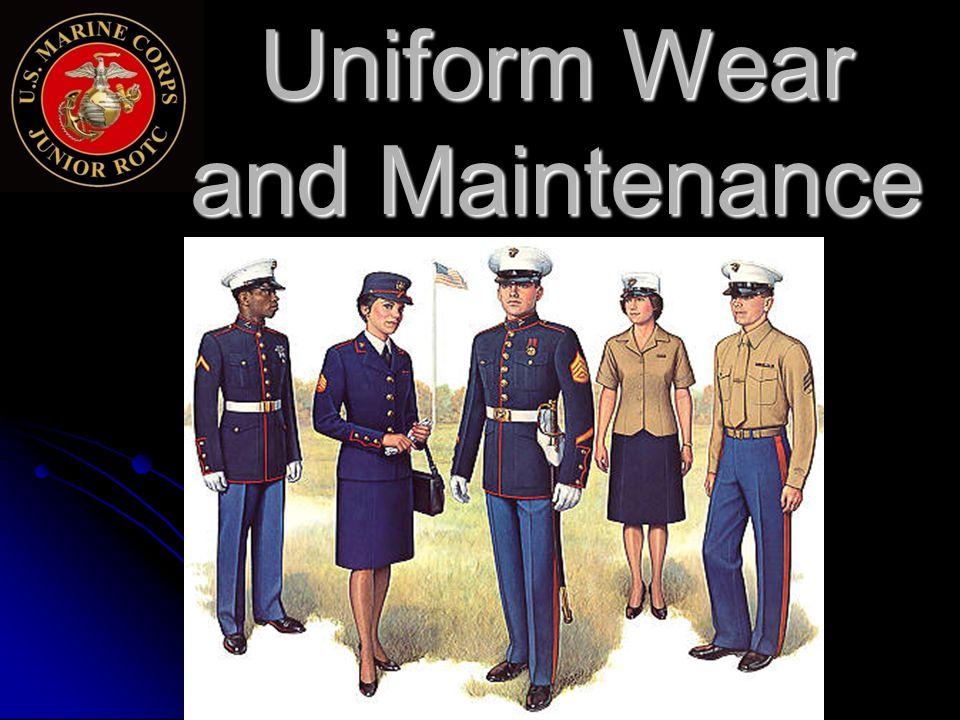 Uniform Wear and Maintenance