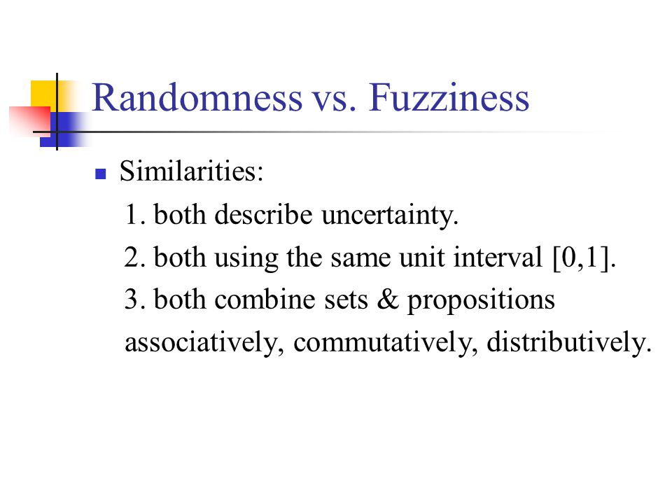the Geometry of Fuzzy Sets: Sets as Points e.g.2 One man said: I'm lying.