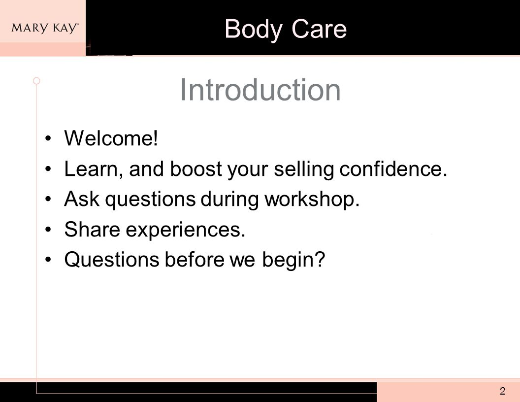 2 Introduction Welcome. Learn, and boost your selling confidence.
