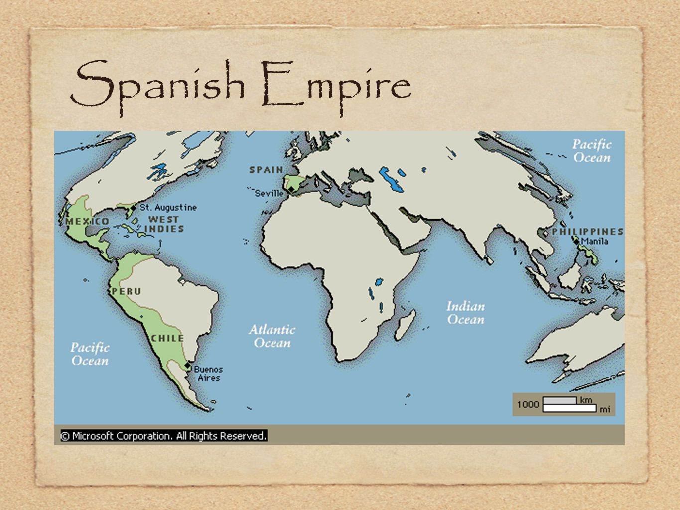 Spanish Empire