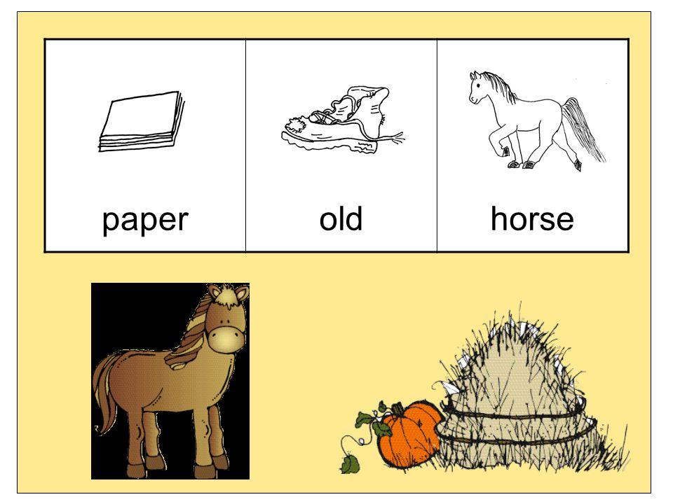 paperoldhorse