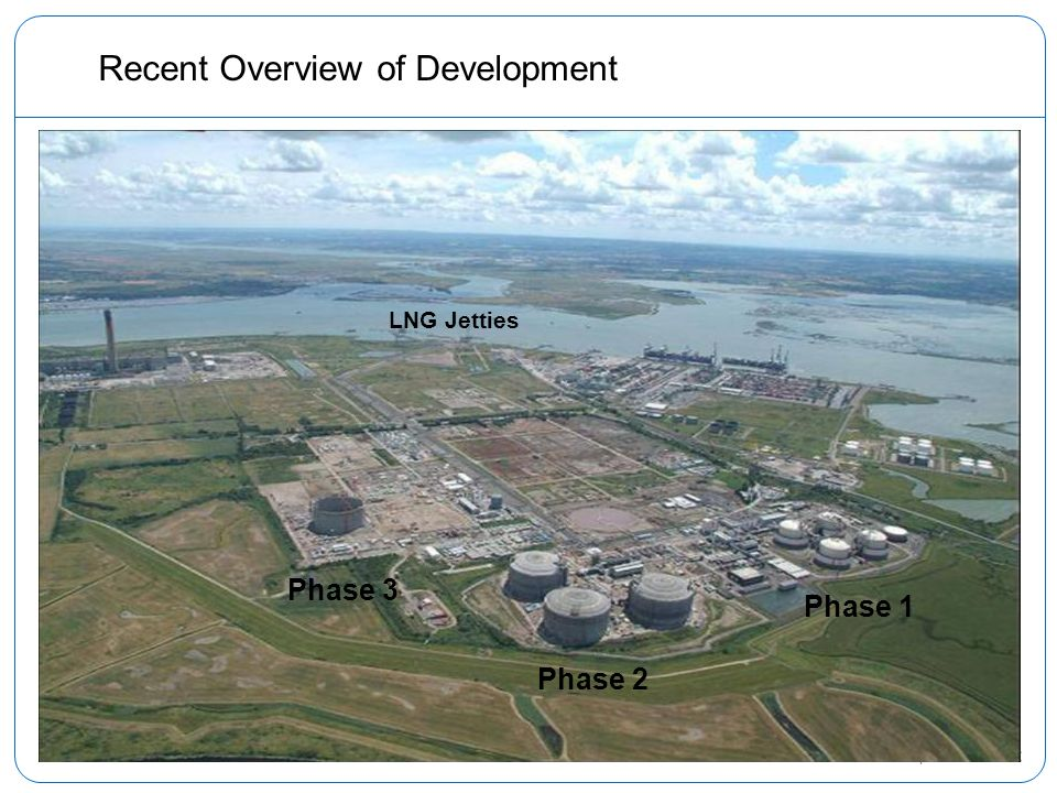 12 Recent Overview of Development Phase 2 Phase 1 Phase 3 LNG Jetties