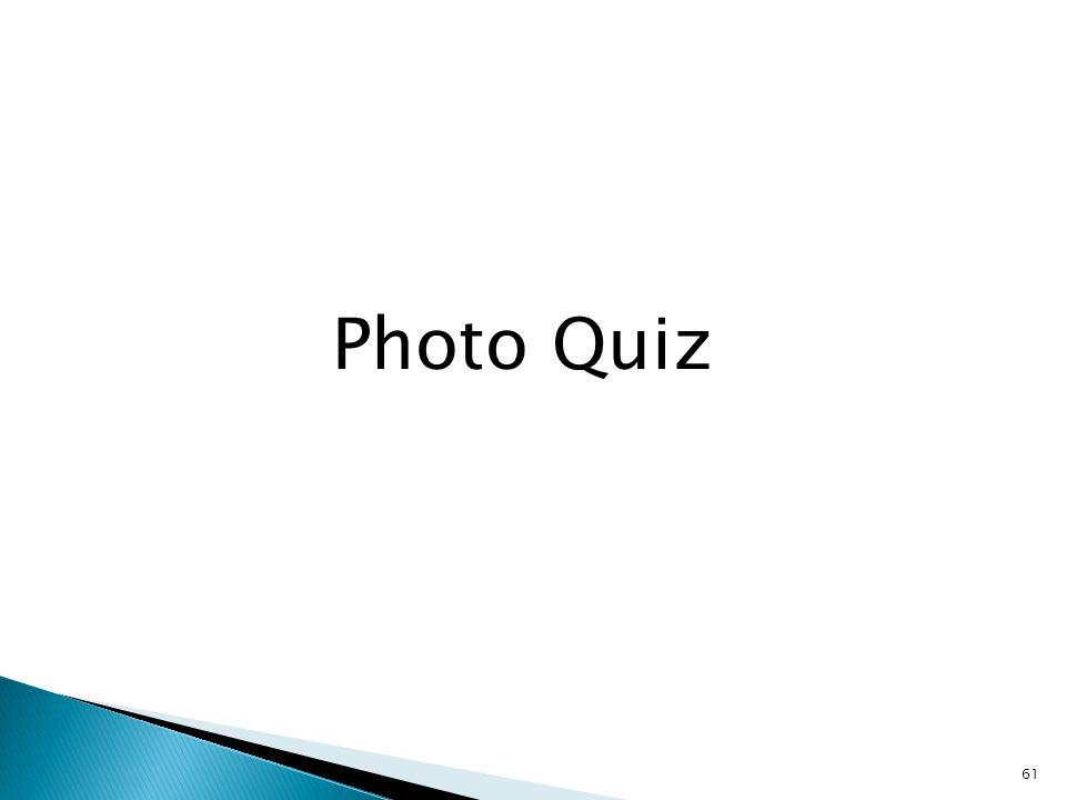 61 Photo Quiz