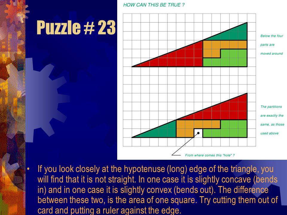 Puzzle # 23