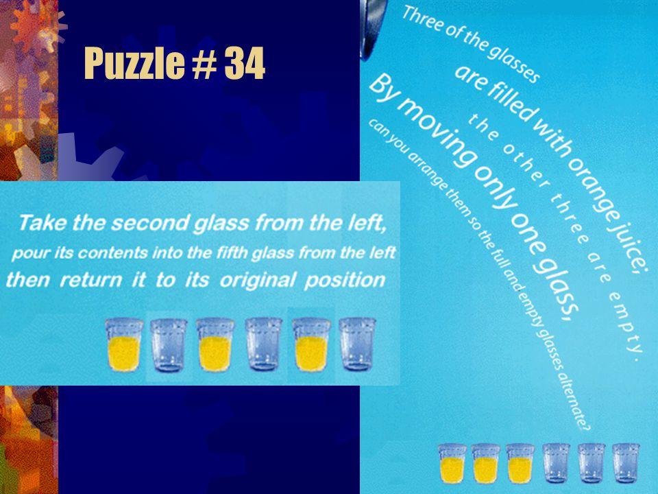 Puzzle # 33