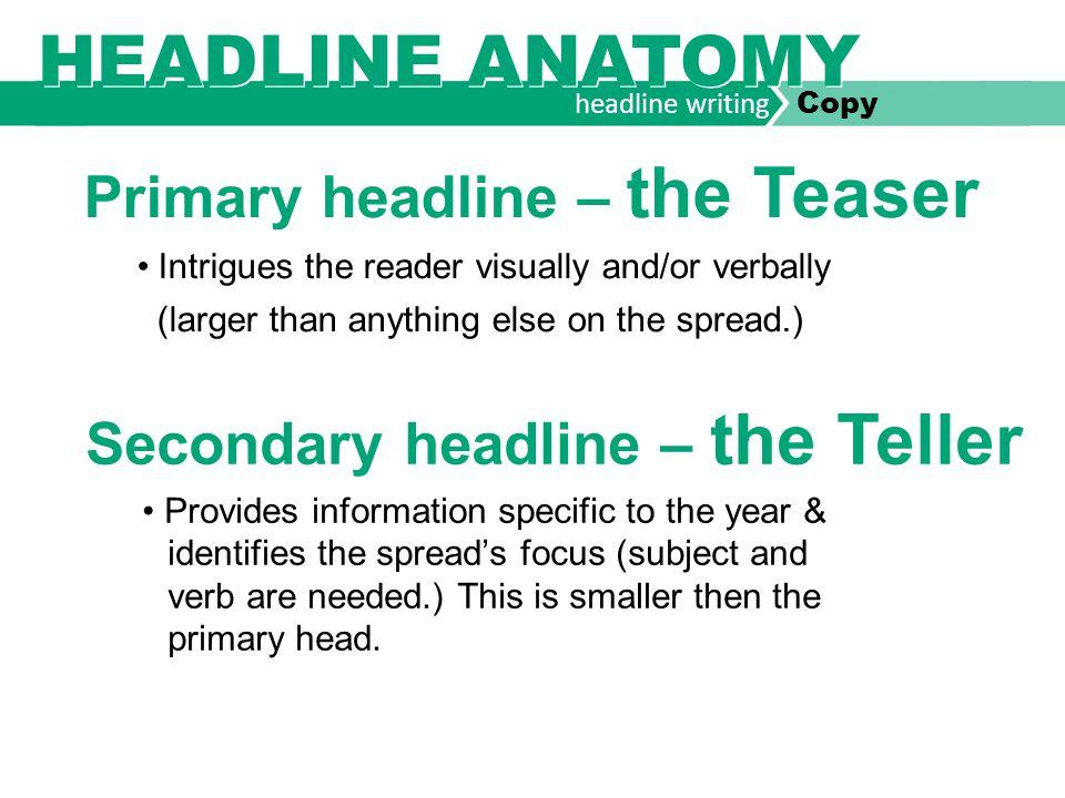 headline writing Copy LITERARY DEVICES RHYME