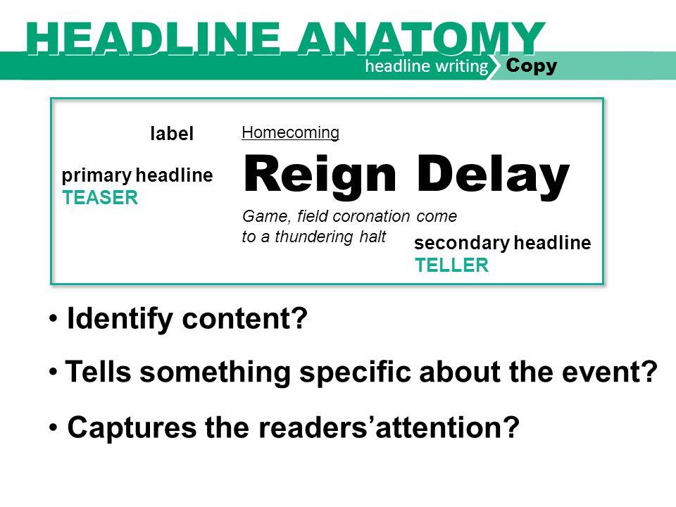 headline writing Copy LITERARY DEVICES HOMONYM