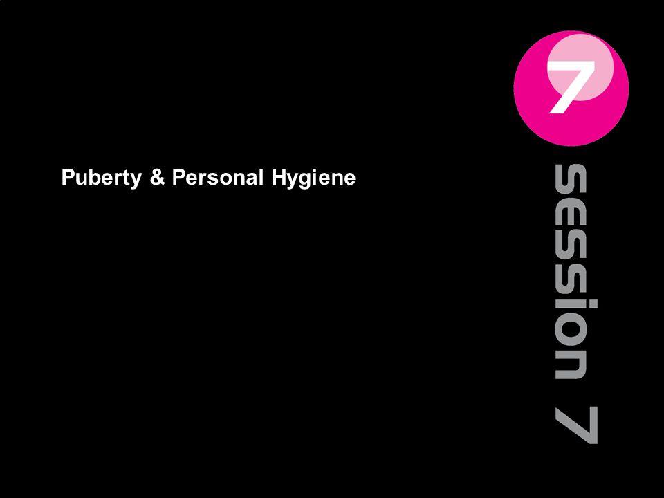 Puberty & Personal Hygiene 75