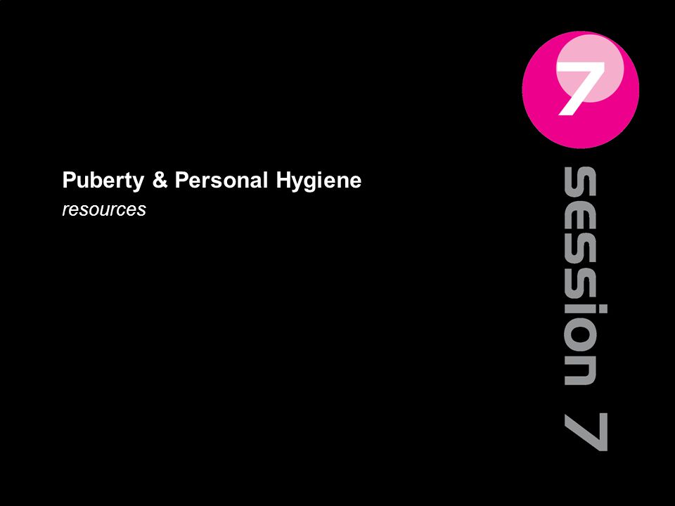 Puberty & Personal Hygiene resources 78