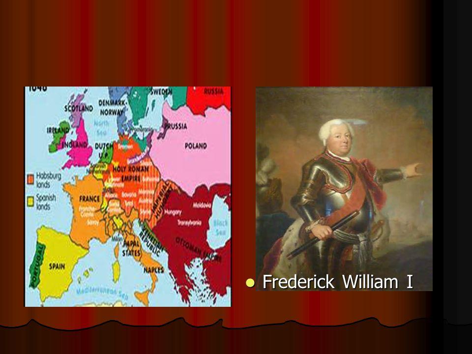 Frederick William I Frederick William I