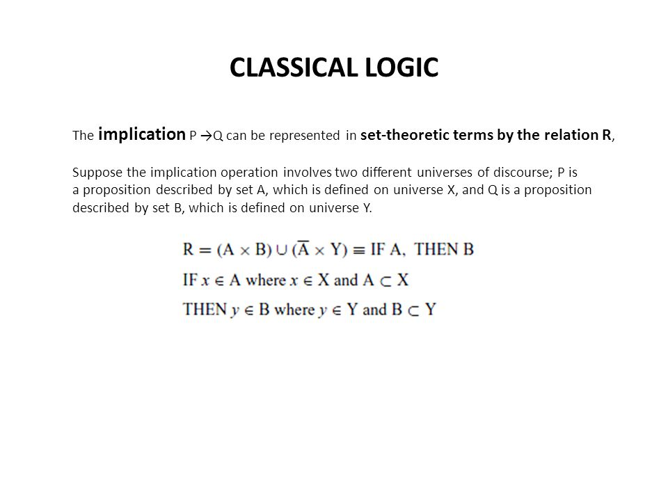 FUZZY LOGIC A fuzzy logic proposition, P ∼, is a statement involving some concept without clearly defined boundaries.