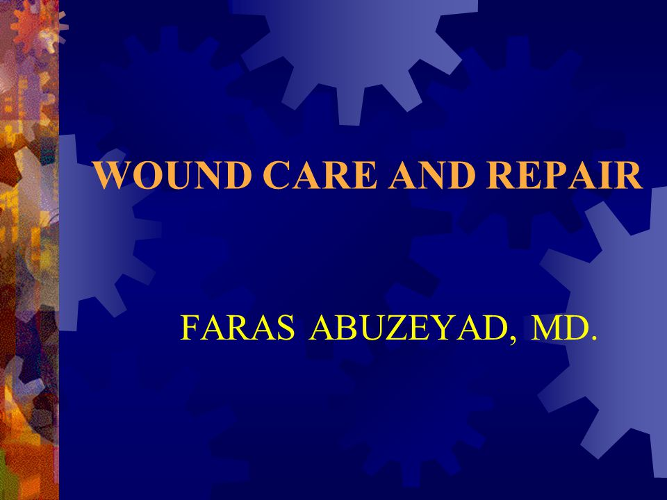  Bodiwala: Surgical gloves during wound repair in the accident and emergency department.
