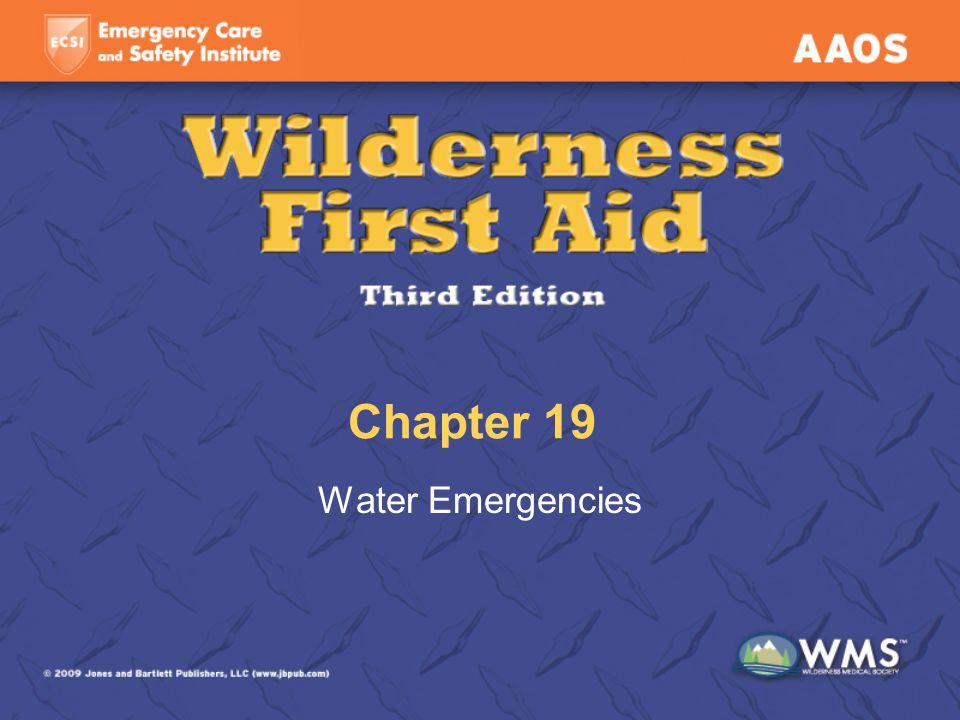 Chapter 19 Water Emergencies