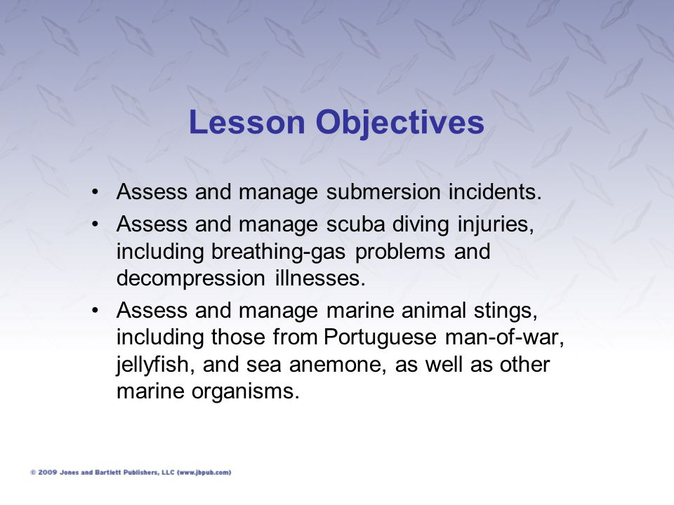 Submersion Incidents (1 of 3) Drowning is defined as the process of experiencing respiratory impairment from submersion/immersion in liquid. Most submersion incidents are preventable.