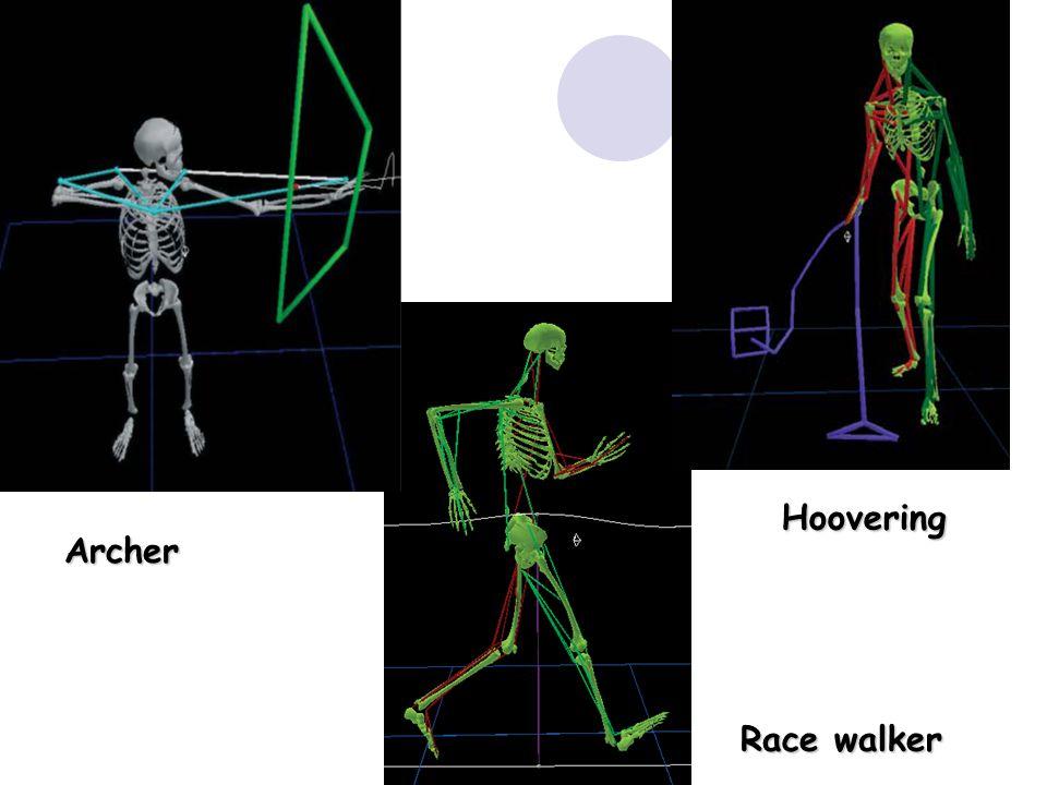 Archer Race walker Hoovering