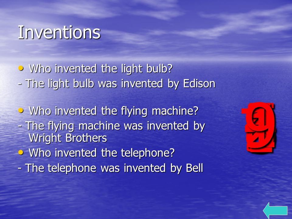 Inventions Who invented the light bulb. Who invented the light bulb.