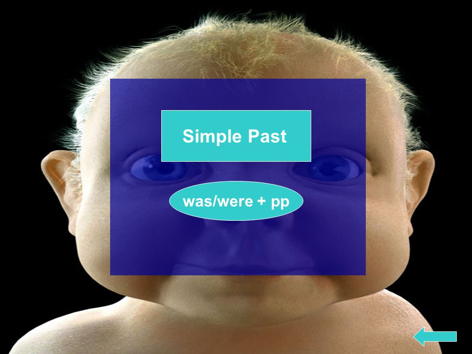 Simple Past was/were + pp