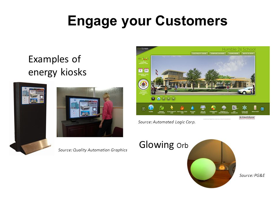 27 Engage your Customers Source: Automated Logic Corp.