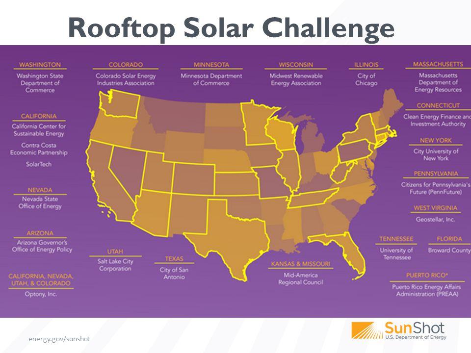 energy.gov/sunshot Rooftop Solar Challenge