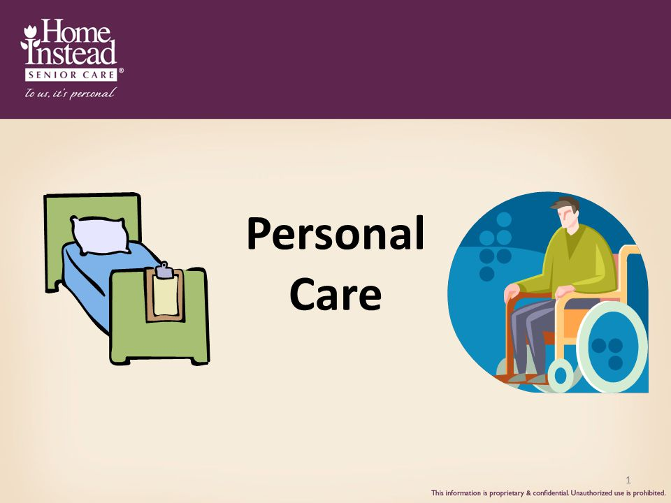 1 Personal Care