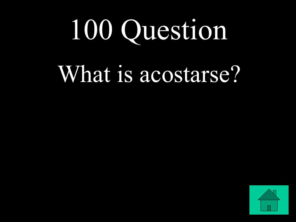 100 Question What is acostarse