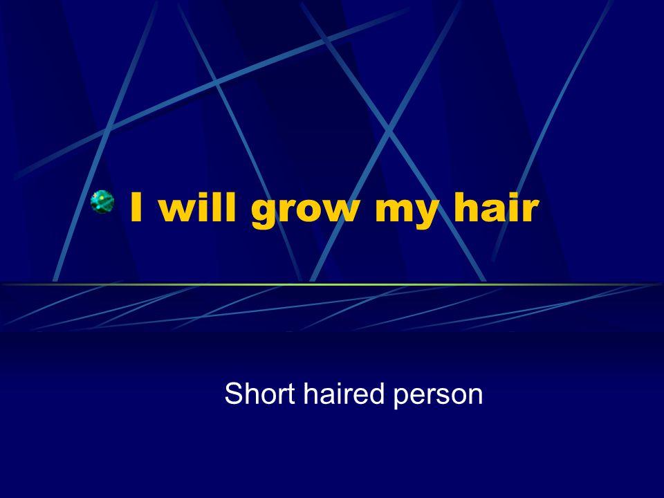 I will shave my beard Hairy man