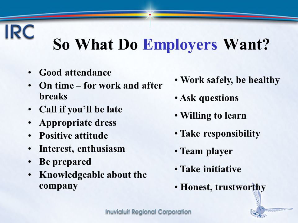 6 What Do Employees Want.