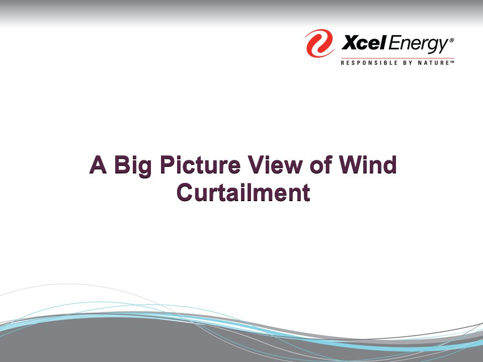 A Big Picture View of Wind Curtailment