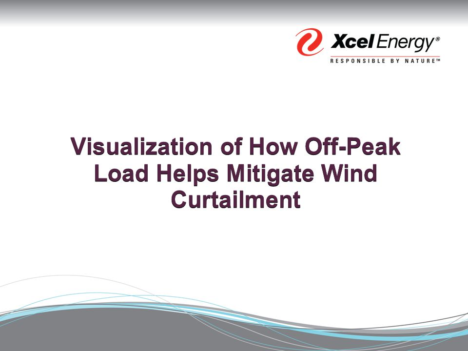 Visualization of How Off-Peak Load Helps Mitigate Wind Curtailment