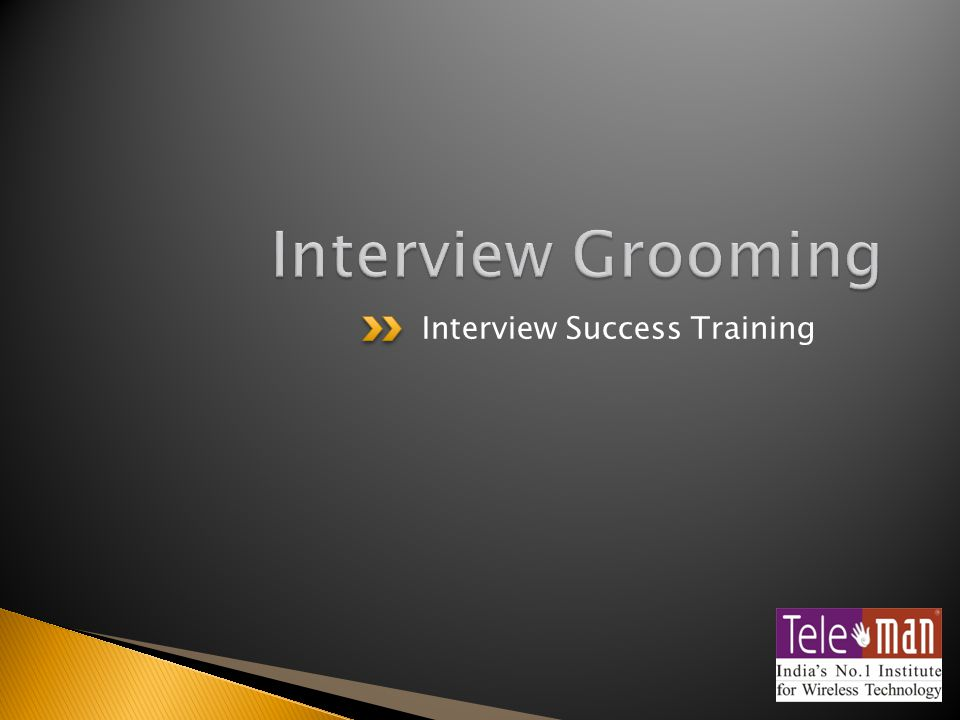 Interview Success Training