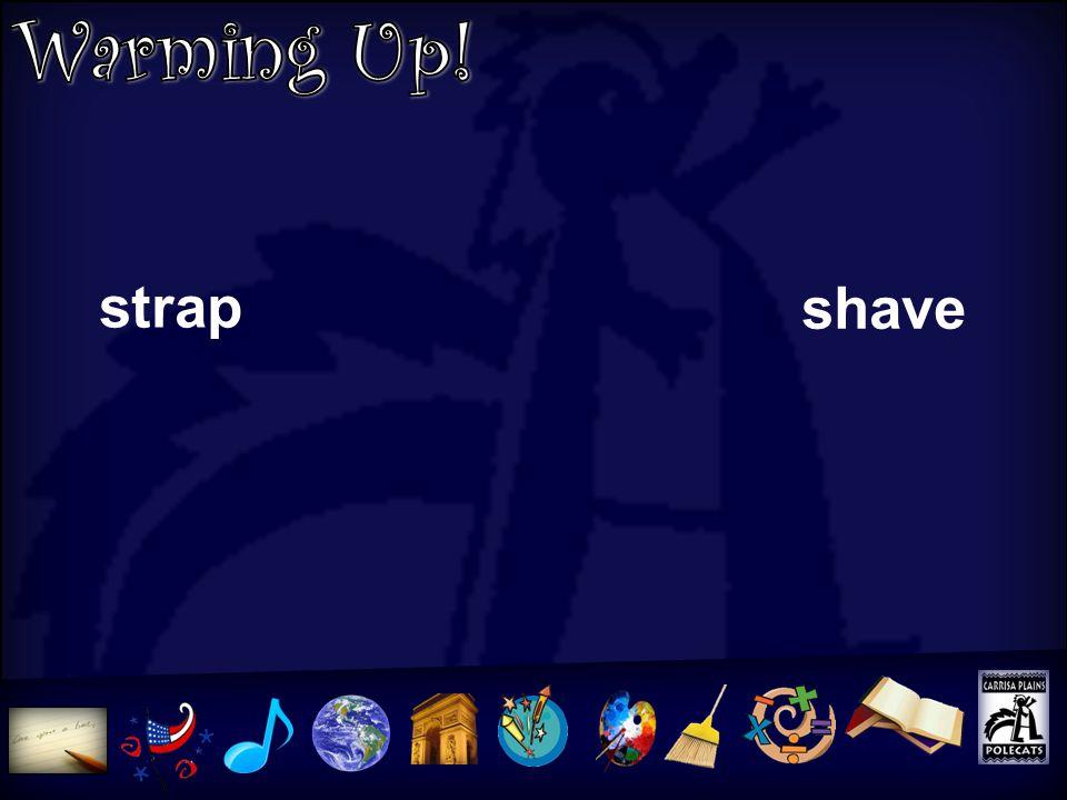 U5L5 strap shave