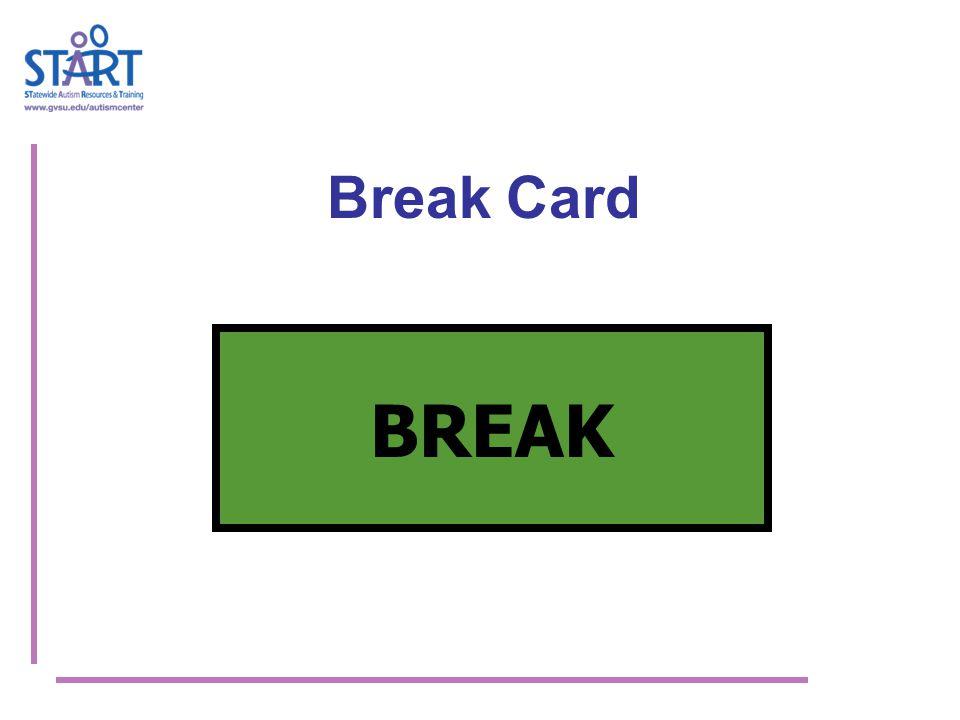 Break Card BREAK