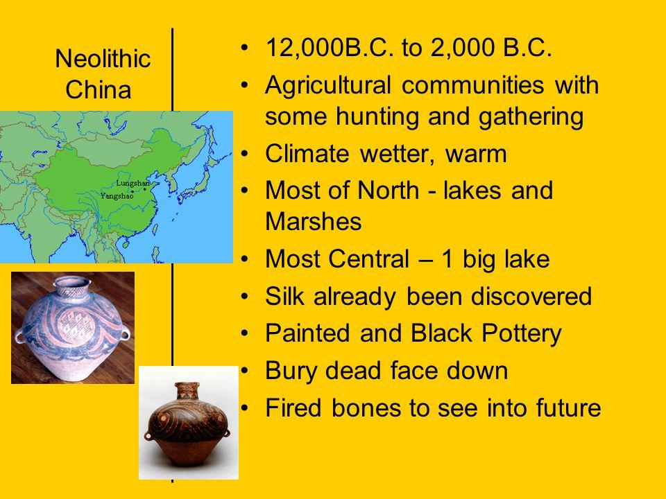 Xia Dynasty 2100-1800 B.C.