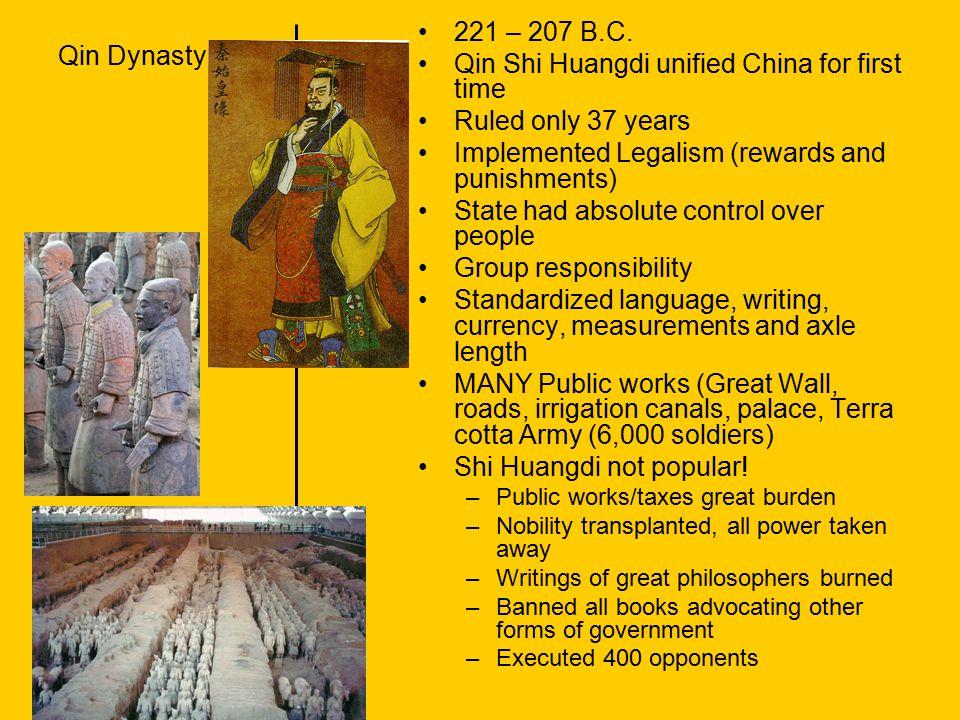 Yuan Dynasty 1279A.D.– 1368A.D.
