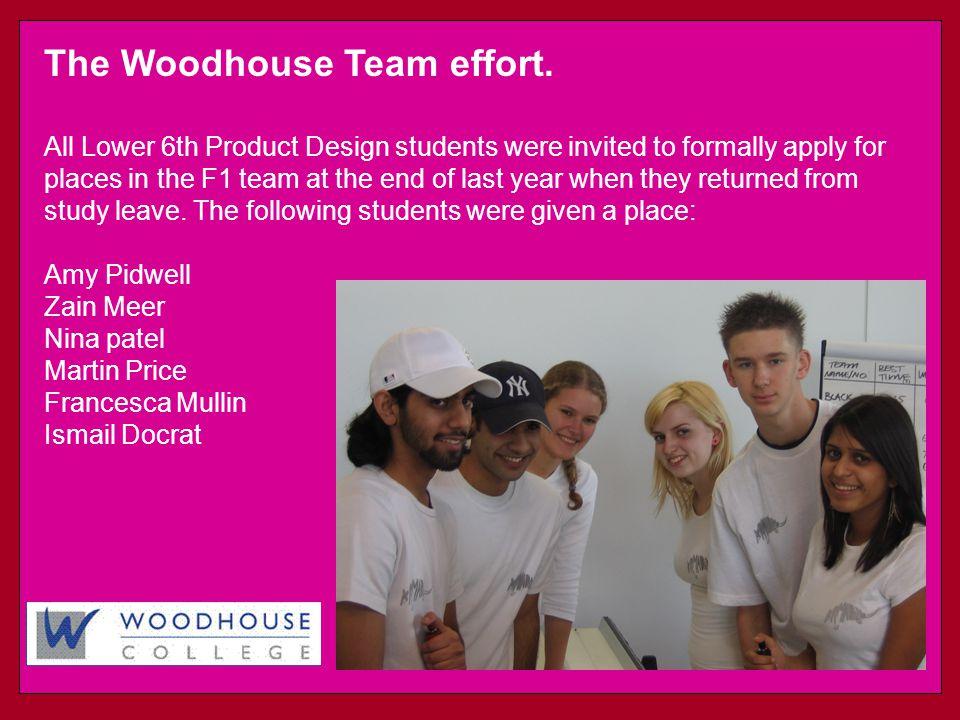 The Woodhouse Team effort.