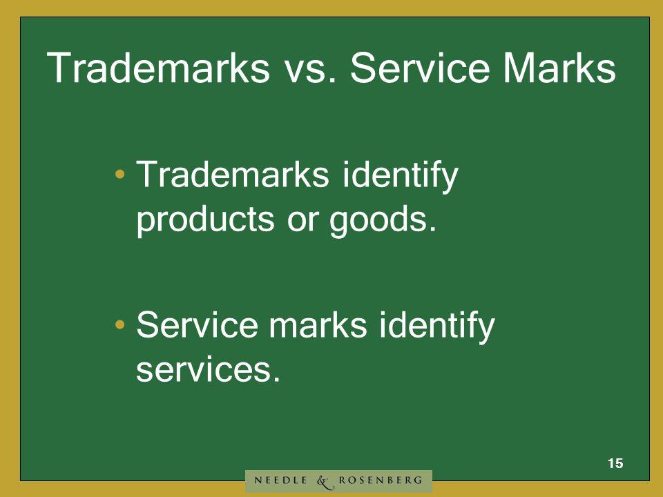 14 Trademarks can be: AMAZON.COM PRICELINE.COM YAHOO.COM