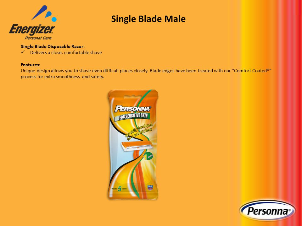 Twin Blade Plus Disposable Razor: Designed to give you a close, comfortable shave with great control Features: Long handle for a better grip Twin blades for a close shave Lubricating strip for greater comfort Excellent quality, at an excellent value Twin Blade Male