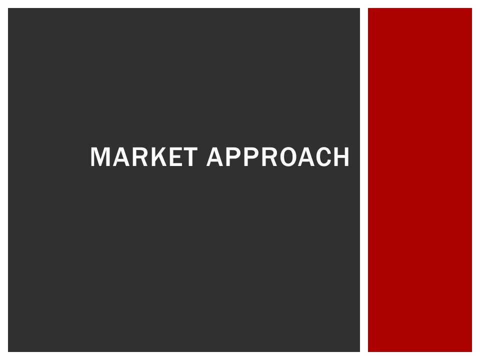  Market Approach  Marketing & Advertising  Information Technology  Merchandising  Human Resources  Financials  Growth  Conclusion  Questions.