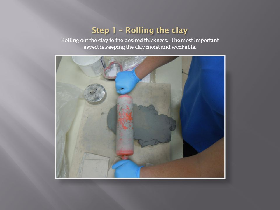  The following presentation demonstrates how the paw prints are created. This process takes approximately 18 days from start to finish.