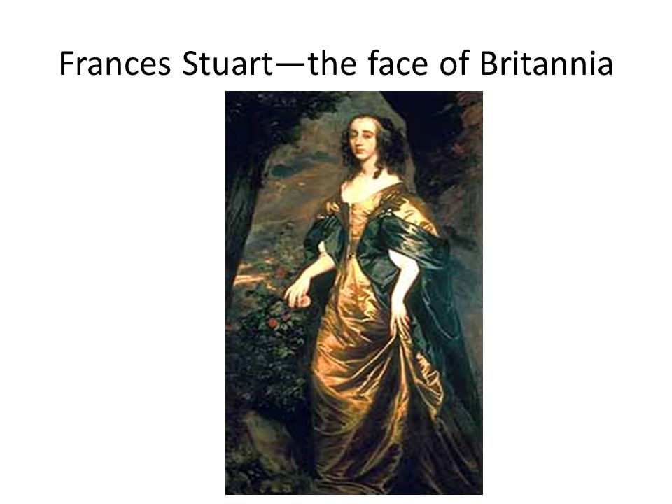 Frances Stuart—the face of Britannia