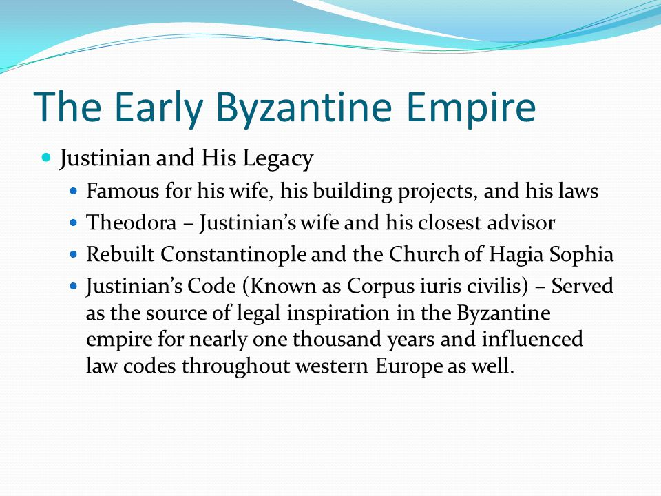 Classical Heritage and Orthodox Christianity The Legacy of Classical Greece Greek was the language of Byzantium Most Byzantines had some form of education and the Greek classics formed the basis of much of that education
