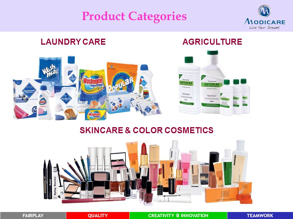 FAIRPLAYQUALITYCREATIVITY & INNOVATIONTEAMWORK LAUNDRY CAREAGRICULTURE SKINCARE & COLOR COSMETICS Product Categories