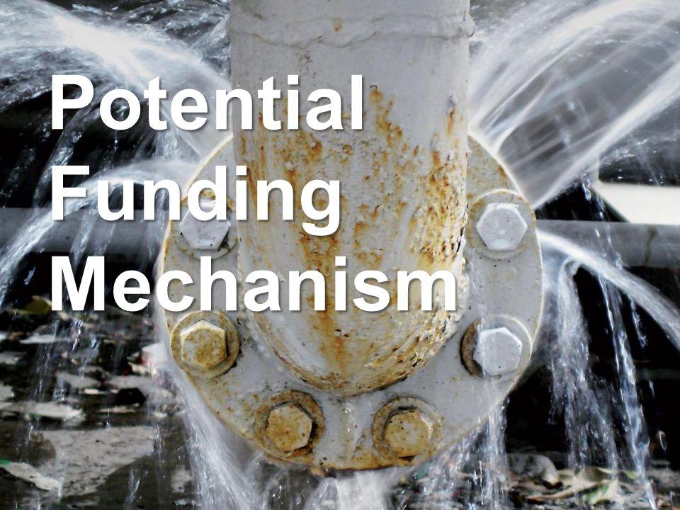 Schneider Electric 24 - Industry – Water – December 2012 Potential Funding Mechanism