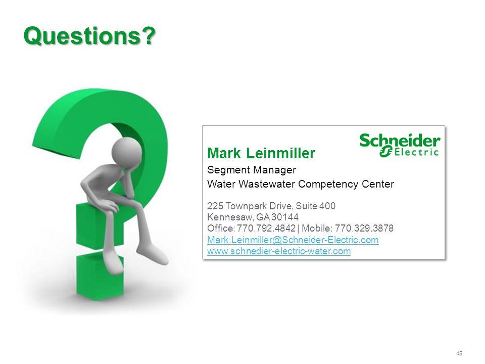 Schneider Electric 45 | Jeff M.